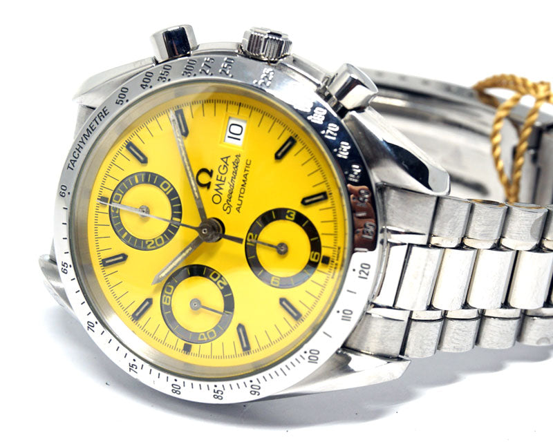 Speedmaster Date Yellow Dial - Luxtime - Fine Watches