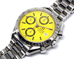 Speedmaster Date Yellow Dial