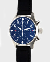 Pilot Chronograph Steel Automatic - Luxtime - Fine Watches