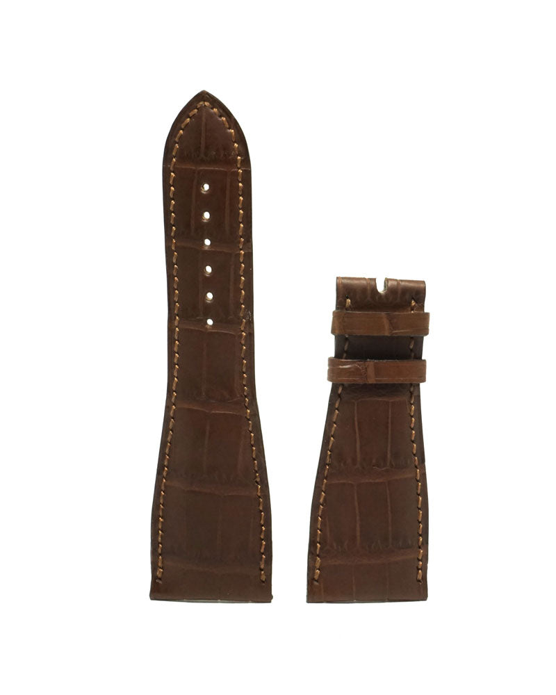 Brown Alligator Strap