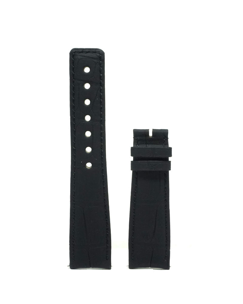 Black Leather Strap - Luxtime - Fine Watches