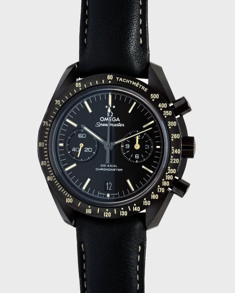 "Speedmaster Moonwatch ""Dark Side Of The Moon"" - Luxtime - Fine Watches"