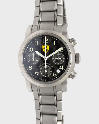 Ferrari Chronograph Carbon Fiber - Luxtime - Fine Watches