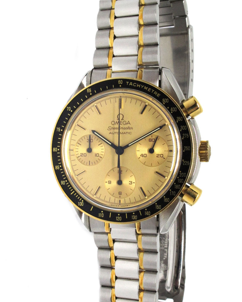 Speedmaster Reduced 18K/Steel - Luxtime - Fine Watches