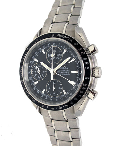 Speedmaster Day Date Steel Automatic