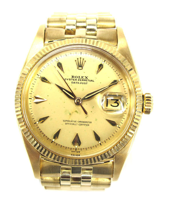 Oyster Perpetual Datejust 18K (Excellent)