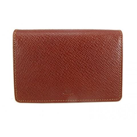 Brown Leather Card Holder - Luxtime - Fine Watches