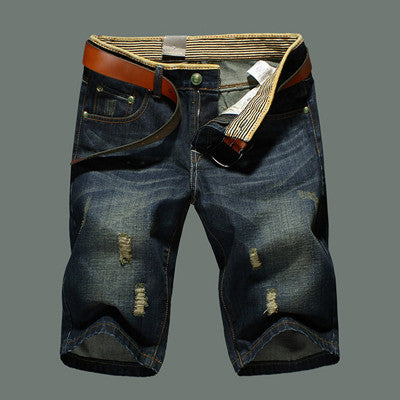 Men Short Fashion Jeans New Fashion Brand Men's Short Pants