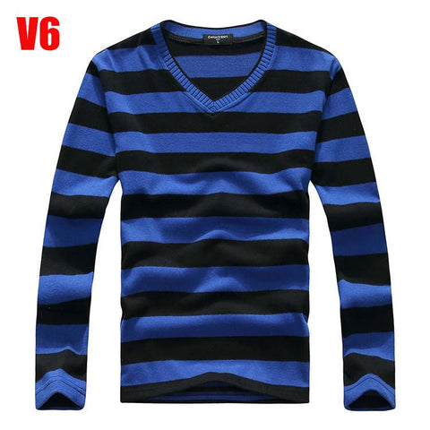 2017 man  designer brand clothes  mens jumper v neck male sweaters polo pullover