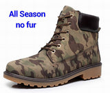 Men's Winter Leather Boot Men Outdoor Waterproof Rubber Snow boots Leisure Martin Men's Boots