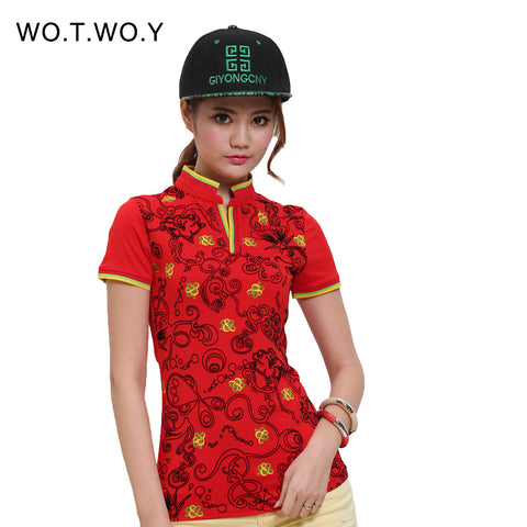 High Quality Polo Raph Women Fashion Print Shirt Cotton Slim Women Polo Shirt Plus Size Brand Polo