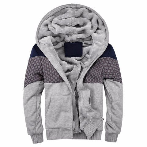 European Fashion Bomber Mens Vintage Thickening Fleece Jacket Designer Famous Brand Male