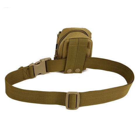 Simple Tactical Belt Wear Bag Riding Inside Nylon Bag Deputy Military Belt Fastening Tape