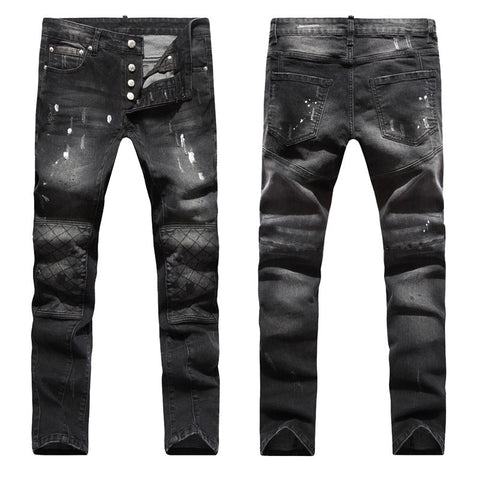 Fashion Men Jeans New Arrival Design Slim Fit Fashion Jeans For Men