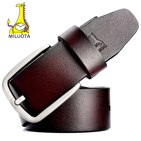 Brand Belts for Men  Cow Genuine Leather  Fashion Designer Strap Male Jeans