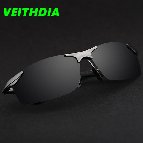 Eyewear Aluminum Magnesium Brand Designer Polarized Sunglasses Men Glasses Driving Glasses