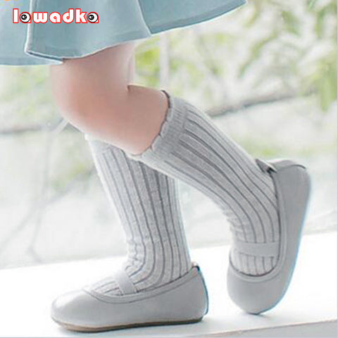 Striped Fashion Cotton Baby Socks Anti Slip Solid Casual   Sock unisex