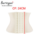 Women Latex Corset Steel Bones Waist Control Corset and Bustier Under bust Slimming Shaper Corselet
