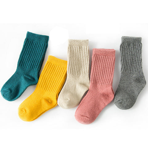Baby  Socks Soft Cotton Knee Long Children's Socks Unisex