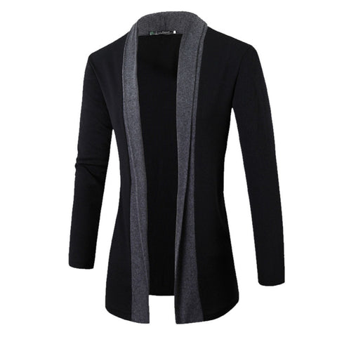 Men coat wool long sleeve slim Lapel collar england fashion style men clothe shot