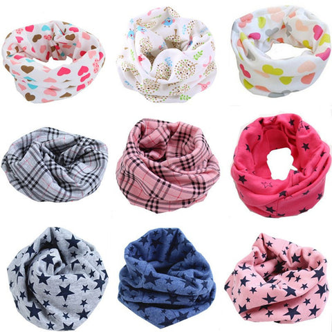 New  baby cotton scarf O Ring  children collar child neck scarf
