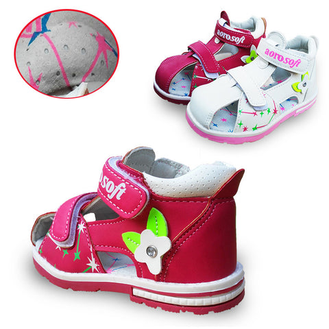 Baby arch support Orthopedic  Sandals antiskid Girl Shoes,with Soft Sole
