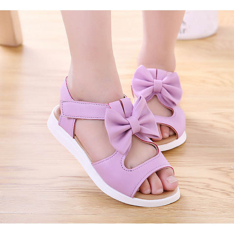 New Style Kids baby Sandals fashion Girls Flat pricness beach Shoes