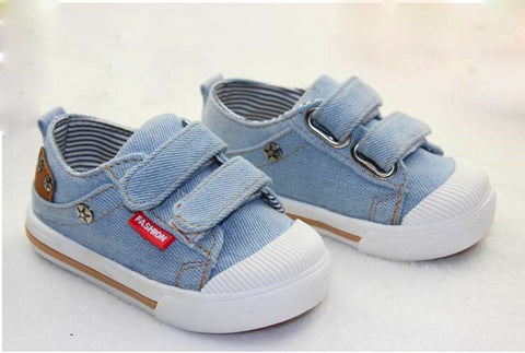 Canvas Kids Shoes girls / Boys Sneakers