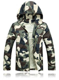New Arrival Men Fashion Camouflage Jacket Summer Tide Male Hooded Thin Sunscreen Coat