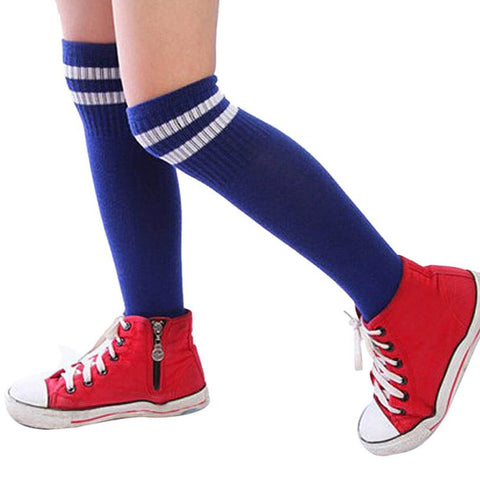 Kids Socks Sport Football Soccer Knee Socks Both  Girls/Boys