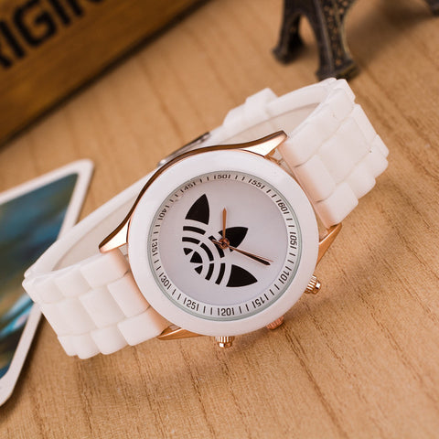 Casual Fashion Watch ad Sport Silicone  Women Quartz Brand Ladies Wristwatches