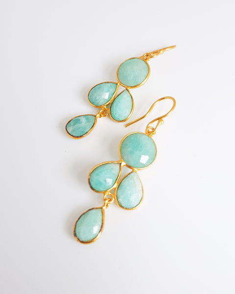 Danielle Amazonite Earrings