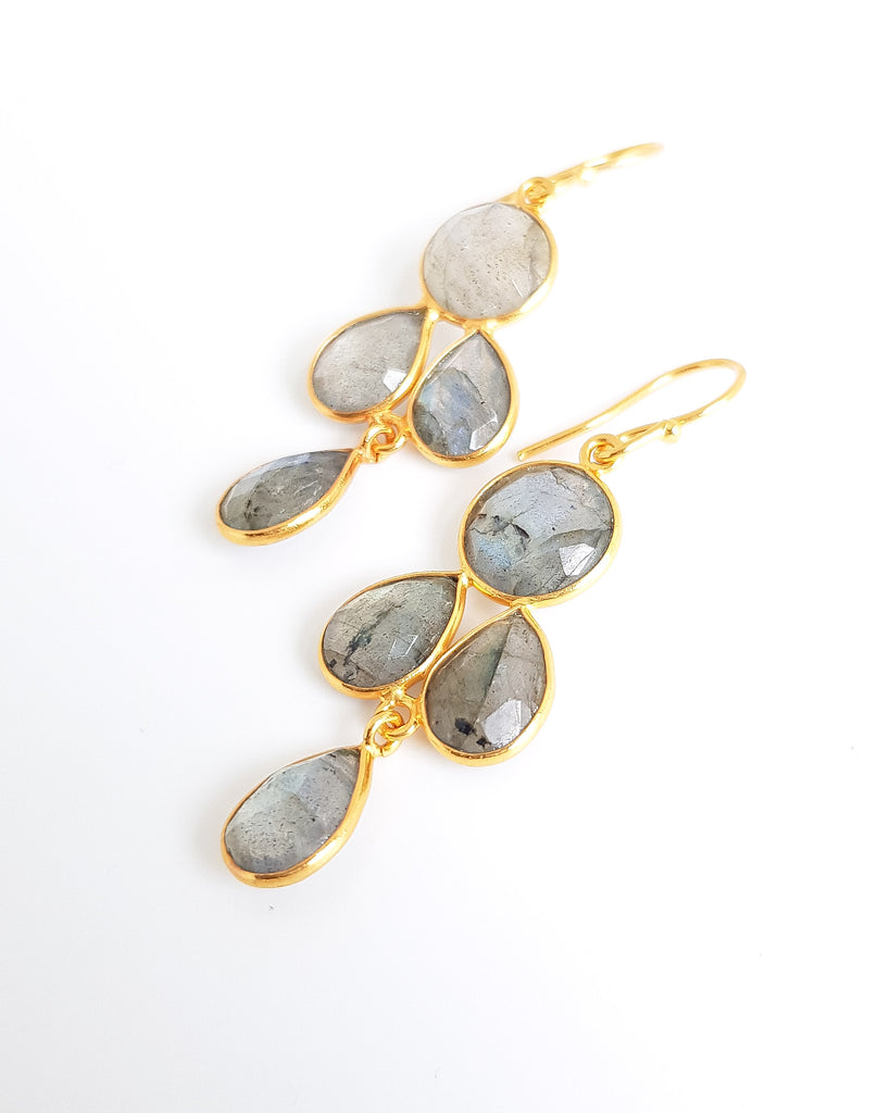 Danielle Labradorite Earrings