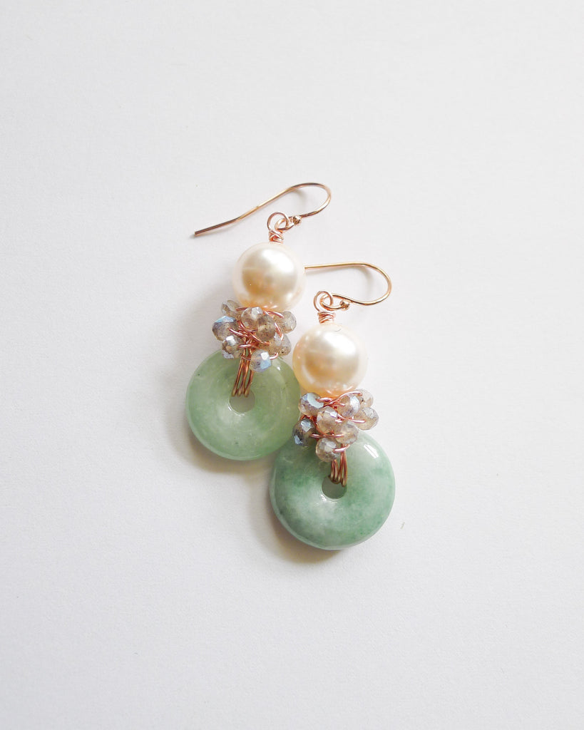 Made-to-Order Pearlyn-Jin Lane Earrings