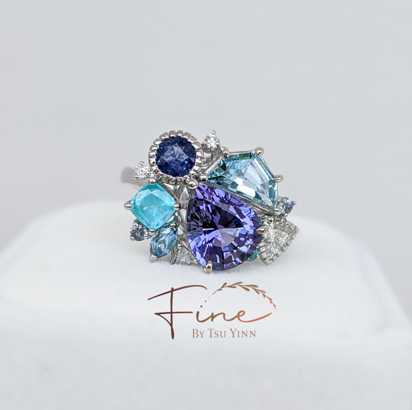 The Blue Cluster Ring