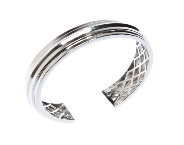 Aria Cuff - Silver - Quella Collection