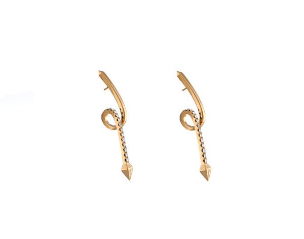Comet Earrings - Quella Collection