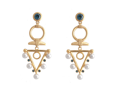 Elle Earrings - Quella Collection