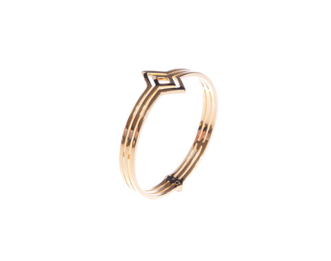 Fallon Bangle - Gold - Quella Collection