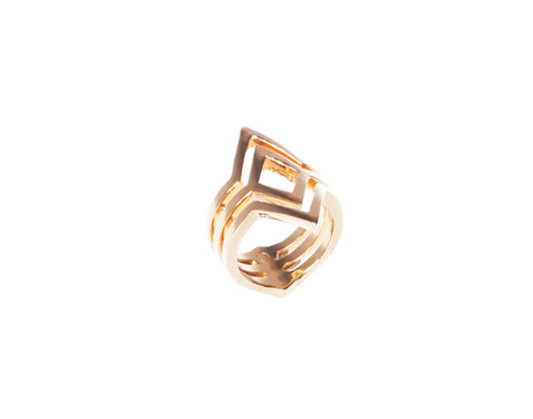 Fallon Ring - Gold - Quella Collection