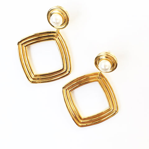 Fiora Earrings - Quella Collection