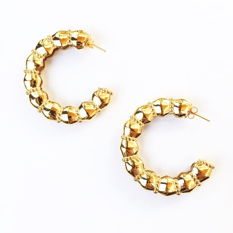 Gaia Earrings - Quella Collection
