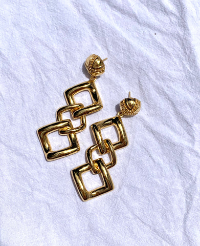 Links Earrings - Quella Collection