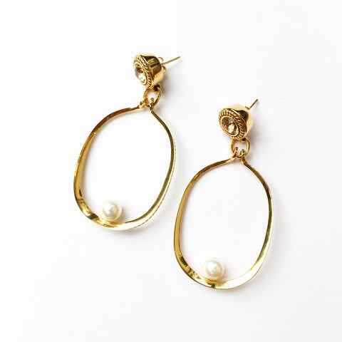 Riva Earrings - Quella Collection