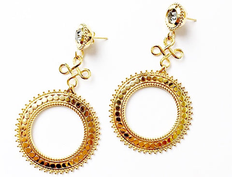 Ambra Earrings - Quella Collection