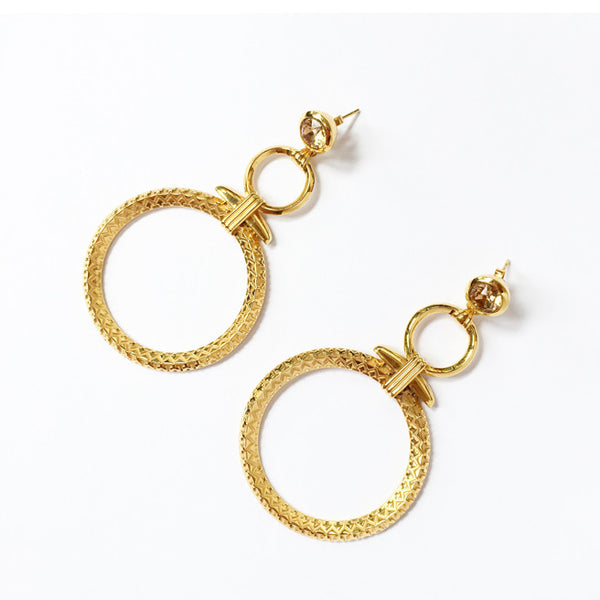 Rocco Earrings - Quella Collection