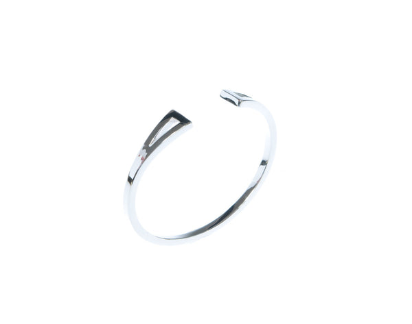 River Cuff - Silver - Quella Collection