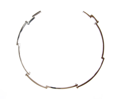 Sidney Choker - Silver - Quella Collection