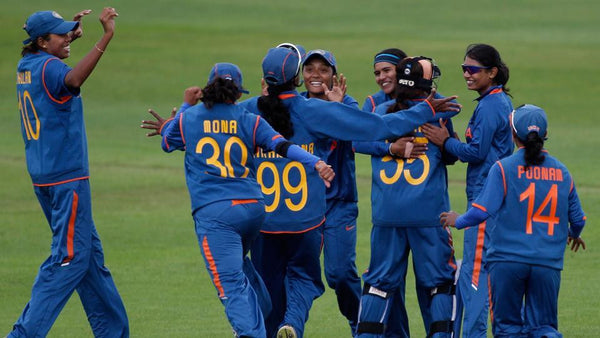 GODDESSES WITH BATS - Indian Women Cricket Team