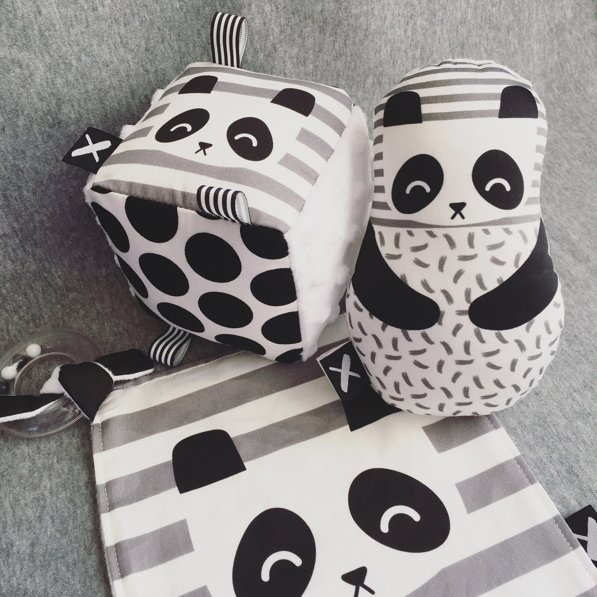 PANDA 'Rattle Binkie' (only 2 left!)